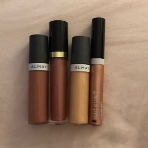 Nude Lip Colors from Almay, Wet n Wild, Revlon